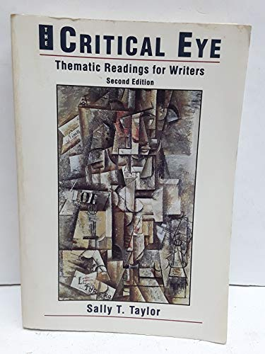 9780155005891: The Critical Eye: Thematic Readings for Writers