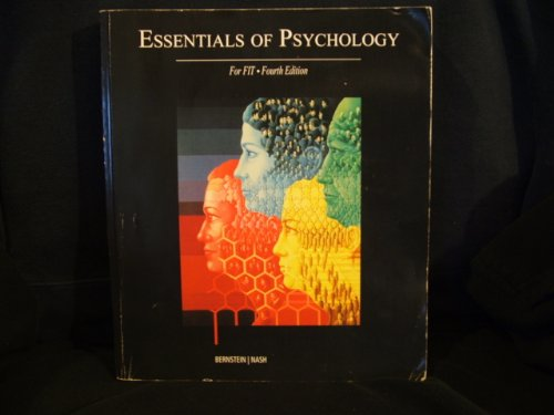 9780155007390: Essentials of Psychology