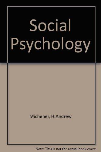 9780155007604: Social Psychology