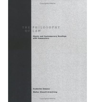 9780155008274: Philosophy of Law: Classic and Contemporary Readings with Commentary