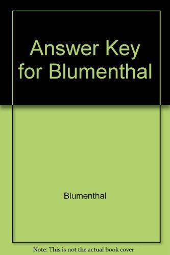 9780155008601: English 2200: Answer Key