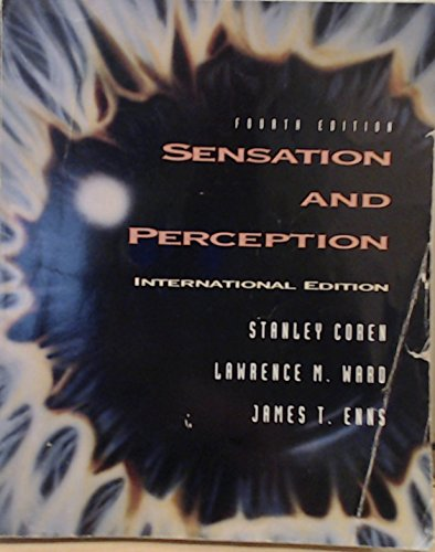 9780155009189: Sensation and Perception