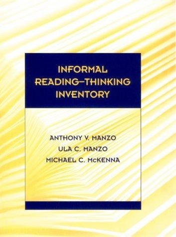 9780155009561: Informal Reading-Thinking Inventory