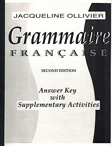 9780155010321: Grammaire Francaise