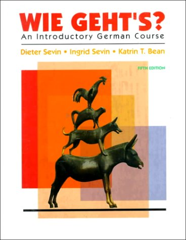 9780155010710: Wie Geht'S?: An Introductory German Course