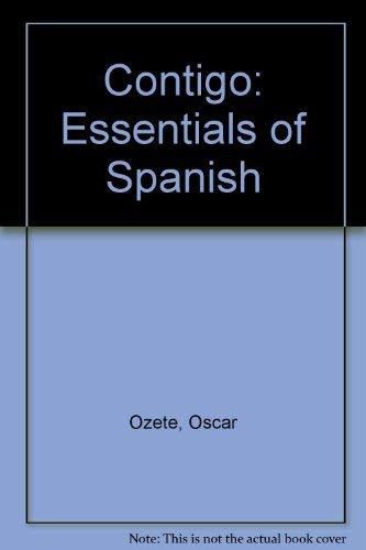 9780155010758: Contigo: Essentials of Spanish (Spanish Edition)
