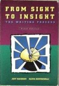 9780155010994: From Sight to Insight