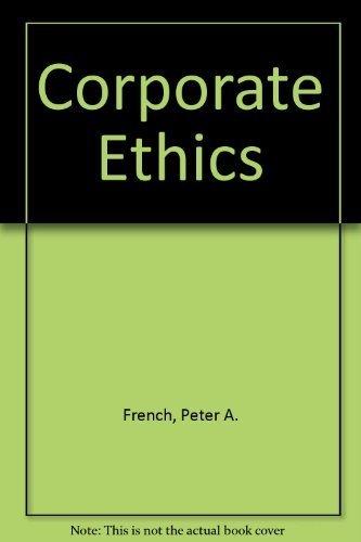 9780155011243: Corporate Ethics