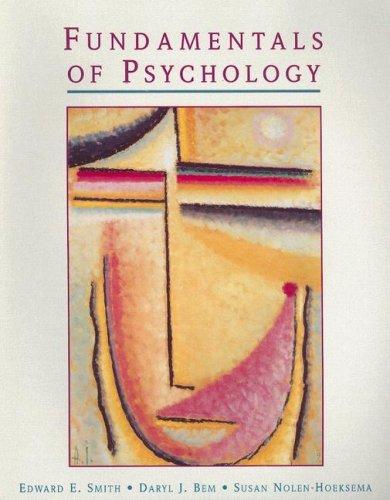 9780155012257: Fundamentals of Psychology