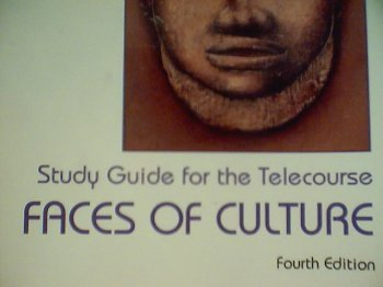 9780155012400: Study guide for the telecourse Faces of culture