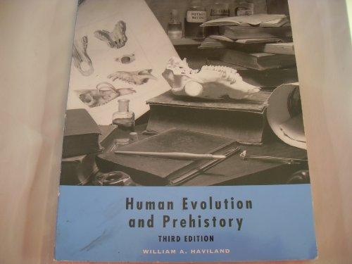 9780155012592: Human Evolution and Prehistory