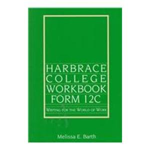 9780155014657: Harbrace College Workbook: Form 12C : Writing for the World of Work