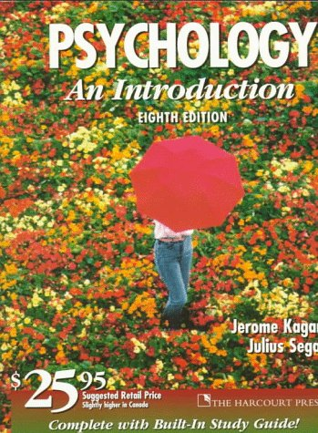 9780155014763: Psychology: An Introduction