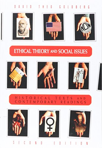 9780155015012: Ethical Theory and Social Issues: History Texts and Contemporary Readings