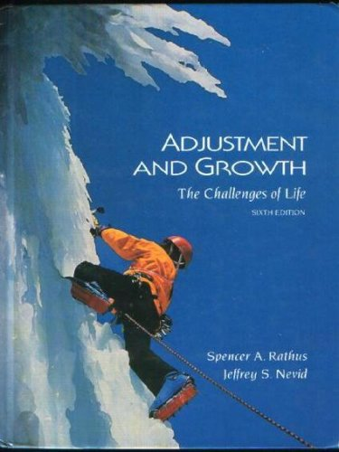 9780155016705: Adjustment and Growth