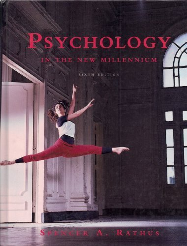 9780155016996: Psychology in the New Millenium