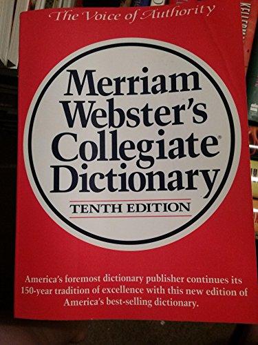 9780155017467: Merriam Webster's Collegiate Dictionary
