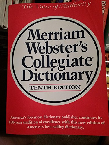 9780155017467: Merriam Webster's Collegiate Dictionary