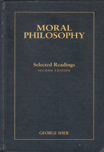 9780155017559: Moral Philosophy: Selected Readings