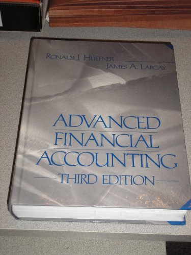 9780155018006: Advanced Financial Accounting