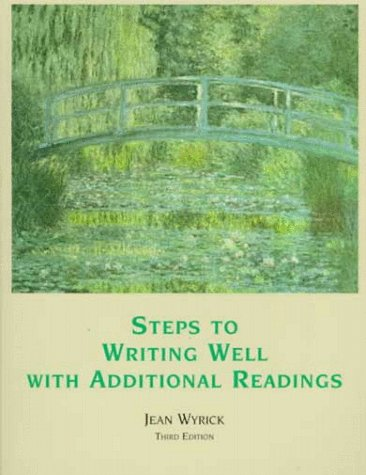 9780155019898: Steps to Writing Well