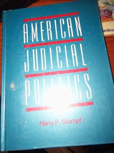 9780155023406: American Judicial Politics