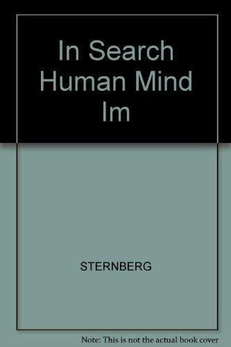 9780155024854: In Search Human Mind Im