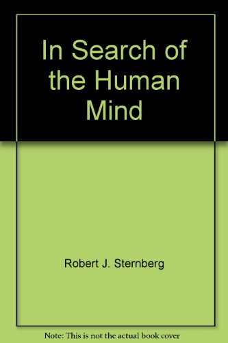 9780155024861: In Search of the Human Mind