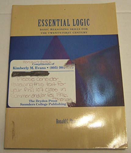 9780155024960: Essential Logic: Basic Reasoning Skills for the Twenty-First Century