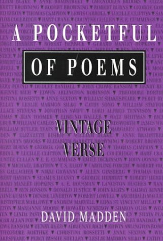 9780155025448: A Pocketful of Poems: Vintage Verse