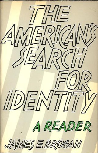 9780155026025: The American's search for identity: A reader