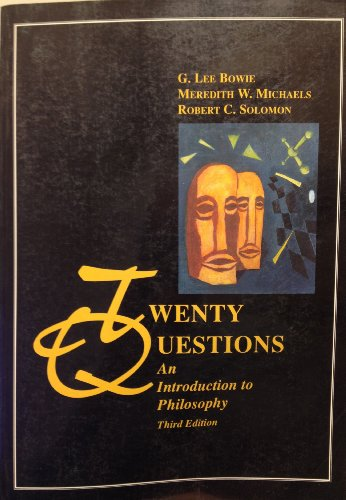 9780155026605: Twenty Questions: An Introduction to Philosophy