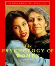 9780155030084: The Psychology of Women