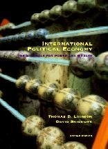 9780155030268: International Political Economy: The Struggle for Power and Wealth