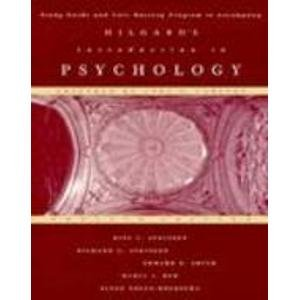 Hilgard's Introduction to Psychology: Study Guide: Atkinson, Rita L.