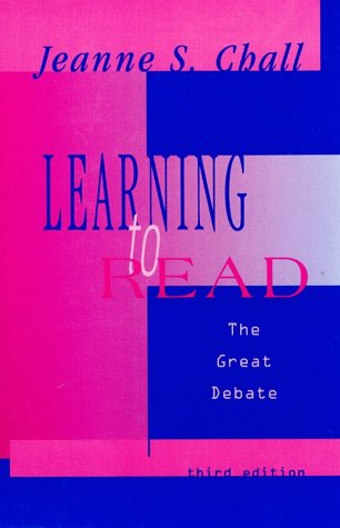 9780155030800: Learning to Read: The Great Debate