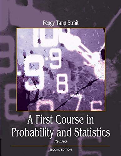 9780155035157: A First Course in Probability and Statistics with Applications