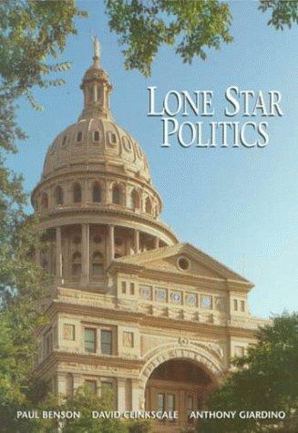 Long Star Politics: Paul Benson; David