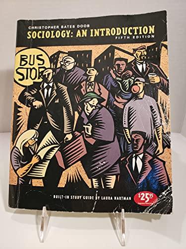 9780155036369: Sociology: An Introduction