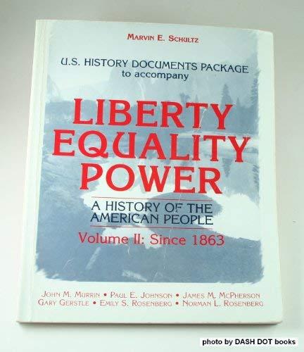 9780155036772: Liberty Equality Power V2 Us H