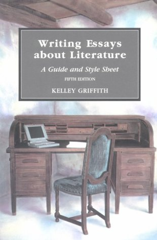9780155037083: Writing Essays About Literature: A Guide and Style Sheet
