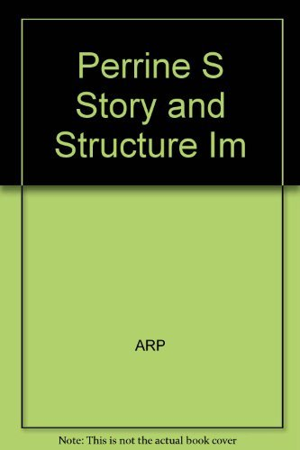 Perrine's Story and Structure: Instructor's Manual (0155037226) by Thomas R. Arp