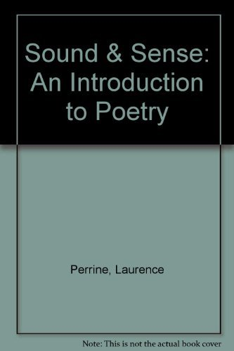 9780155037434: Sound & Sense: An Introduction to Poetry- Instructor's Manual