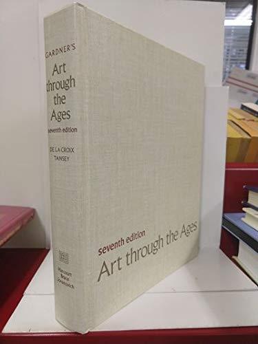 9780155037588: Gardner's Art through the ages