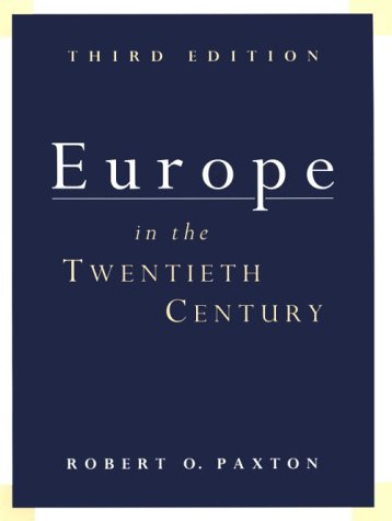 9780155037793: Europe in the Twentieth Century