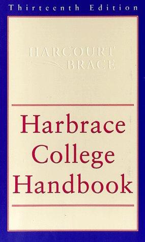 9780155039483: The Harbrace College Handbook (13th ed)