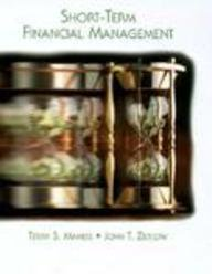 9780155039711: KIP:SHORT TERM FINL. MANAGEMENT, 1E (Dryden Press Series in Finance)
