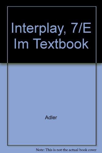 9780155039810: Interplay, 7/E Im Textbook
