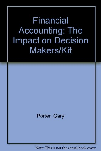 9780155040007: Financial Accounting: The Impact on Decision Makers/Kit
