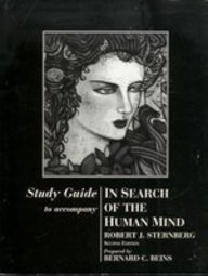 9780155040328: Study Guide for Sternberg's In Search of the Human Mind, 2nd